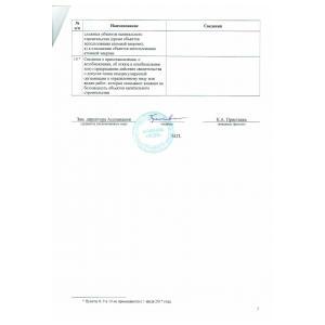 Выписка из реестра членов СРО стр. 3