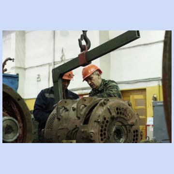 Участок ремонта электрических машин