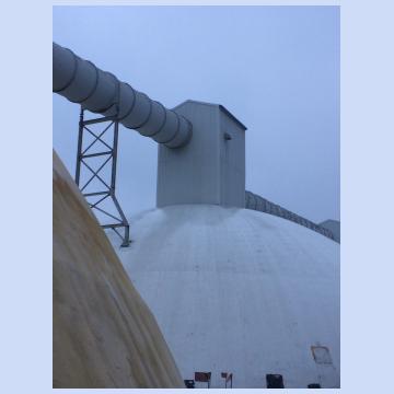 Работы по ремонту башен купольных складов № 2004, 2007, 2009