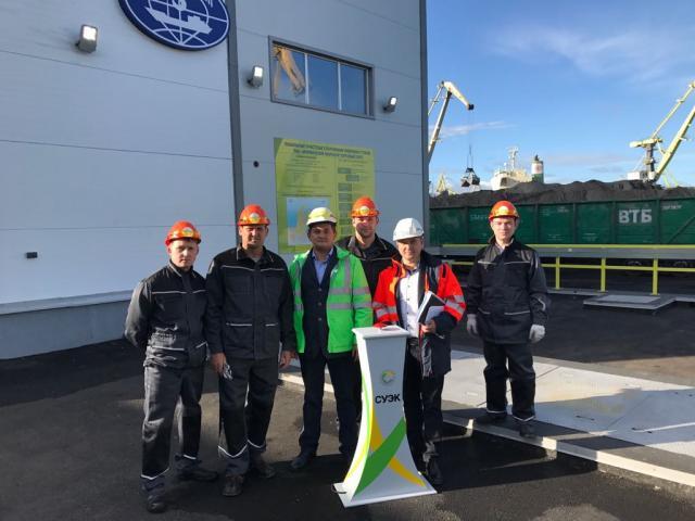 Четыре степени очистки. Уникальную систему сегодня запустили в Мурманском морском торговом порту